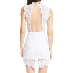 Free People Daydream Lace Open Back White